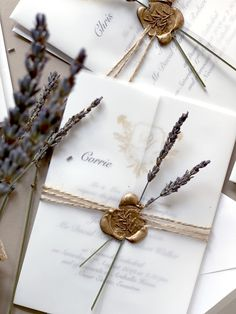 A Summer wedding in Scotland with a south of France flair and that lovely smell of lavender. #jostudiodesign #weddingstationery #weddinginspiration #wedding #customweddinginvitationsuk #artwork #invitations #calligraphy #envelopes #graphicdesign #goldfoil #waxseal #proudlyprinted  #lavender  #classicwedding#allinthedetails #crystalpalace #london #studio