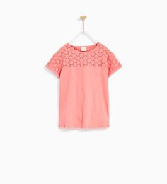 BASIC EMBROIDERED T-SHIRT - Available in more colours