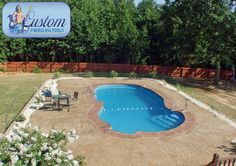 "Grand Cayman : 17'x37' Awesome Pools is located in Apison, Tennessee and builds beautiful fiberglass swimming pools, spas and tanning ledges from Custom Fiberglass Pools. We service South Eastern Tennessee and North Western Georgia.  For more information on how you can have your own ""Awesome"" backyard, give us a call at (423) 615-9554, email us at info@awesomepoolsspas.com or visit www.awesomepoolsspas.com"