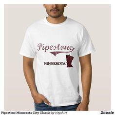 Pipestone Minnesota City Classic Shirt