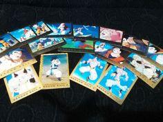 17 CROMOS DRAGON BALL Z 3 EDICION ORO CARDS DORADAS PANINI CARTAS TOEI ANIMATION