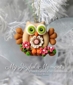1000+ ideas about Polymer Clay Owl on Pinterest | Clay Owl ...