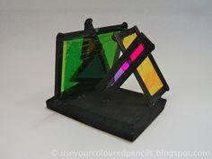 Utilice sus lápices de colores: Color Panel Esculturas