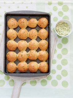 These easy tear and share dough balls with delicious garlic herb butter from Mary Berry Everyday can be prepared in advance for stress-free hosting. Perfect as a side dish, a starter, or an easy snack, these dough balls are guaranteed to become a family favourite.