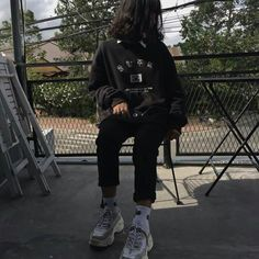 Best Edgy Outfits Part 7 Edgy Outfits, Swag Outfits, Korean Outfits, Grunge Outfits, Grunge Fashion, Cool Outfits, Fashion Outfits, Ulzzang Fashion, Ulzzang Girl
