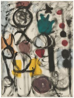 Adolph Gottlieb, Chromatic Game (1951)