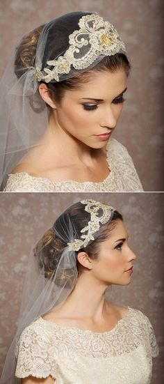 gorgeous wedding veils to complete the wedding look