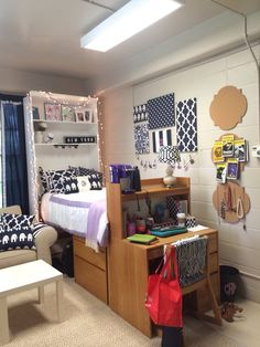 College Dorm Room Organization Freshman Year