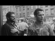 Home movies of the Beats: Jack Kerouac, Allen Ginsberg, Lucien Carr, Mary Frank and a gaggle of kids Beat Generation, Allen Ginsberg, Jack Kerouac, Lucien Carr, Friends Hanging Out, Dangerous Minds, Pin Up, Writers And Poets, American Poets