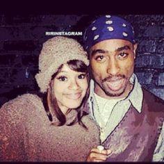 Left Eye & Tupac..