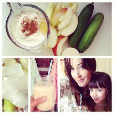 Cinnamon-Apple Cucumber Smoothie Recipe plus 20 more of my favorite smoothie recipes
