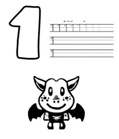 halloween number worksheets (2)