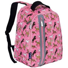 Wildkin Horses in Pink Echo Backpack -- To view further for this item, visit the image link.