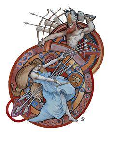 Scandinavian Mythology. Part 3. on Behance