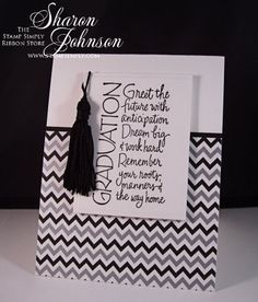 B/W Graduation 3 by notimetostamp - Cards and Paper Crafts at Splitcoaststampers