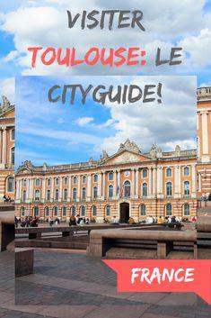 Direction le Sud de la France avec un Cityguide de la ville de Toulouse! écrit par une blogueuse toulousaine. Que faire et que visiter à Toulouse, où boire un verre en terrasse, quels musées visiter... #toulouse #cityguide #france #visitertoulouse