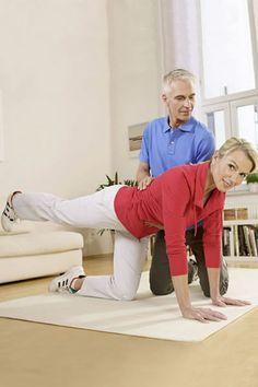 Übung für Muskeltraining