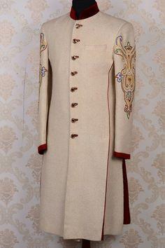 Achkan, Sherwani, Jodhpur, Formal Wear, Groomsmen, Menswear, Pure Products, Luxury, Pattern