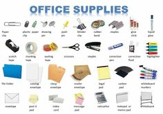 Office supplies English lesson