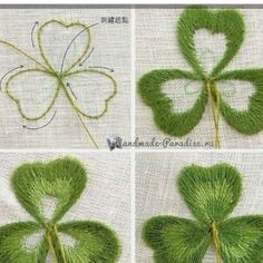 Wonderful Ribbon Embroidery Flowers by Hand Ideas. Enchanting Ribbon Embroidery Flowers by Hand Ideas. Embroidery Leaf, Learn Embroidery, Hand Embroidery Stitches, Silk Ribbon Embroidery, Hand Embroidery Designs, Embroidery Techniques, Embroidery Kits, Cross Stitch Embroidery, Simple Embroidery