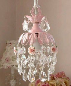 amazing chandelier idea could be done with an old chandelier and the cheap faux pearls that look real salvaged vintage brooches or earrings pinterest - Shabby Chic Chandelier