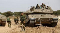 Israel ataca posiciones de Hamás en Gaza en respuesta al disparo contra los…