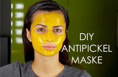 DIY ANTI PICKEL, AKNE , MITESSER Maske selber machen | Heavensdream