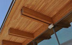 StructureCraft Designs+Builds Mass Timber & Signature Timber Structures using Cross Laminated Timber – CLT. Timber Architecture, Canopy Architecture, Architecture Design, Zinc Cladding, Wood Canopy, Timber Structure, Timber House, Affordable Housing, Wood Laminate