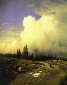 After a thunderstorm. Fyodor Vasilyev (1850-1873)