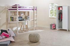 hit hoogslaper bureau Bed, Furniture, Home Decor, Euro, Google, Lofted Beds, Child Desk, Home Ideas, Decoration Home