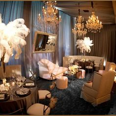 50 Great Gatsby Party Decor Ideas 10