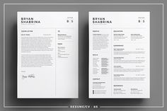 Resume/CV - BS - Resumes