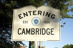 Entering Cambridge Est. 1635 #CambridgeMA #CambMA