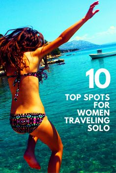 Whether you prefer to travel carefree or connected, if you're staying stateside, here are the top destinations for female solo travelers—according to women who have been there. Travel Attire, Girls Getaway, Top Destinations, Travel Inspiration, Travel Ideas, Travel Tips, Travel Alone, Looks Cool, Solo Travel