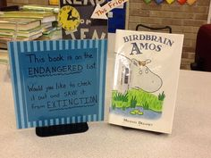 Endangered Book! This book hasn't ever been checked out...keep it from Extinction.