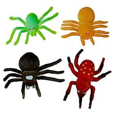 Stretchy Spider toy - 6cm