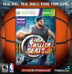 NBA Baller Beats By Majesco XBOX 360 $49.26  Your #1 Source for Video Games Consoles Accessories! For Full Info Click On PIN  Multicitygames.com