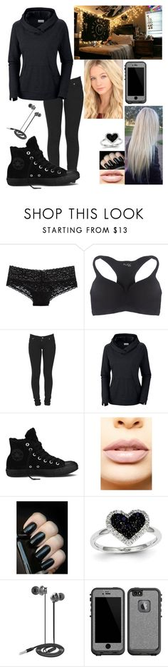 """""""*cries* Read Description"""" by sarahiraldo ❤ liked on Polyvore featuring Aerie, Wet Seal, Dr. Denim, Columbia, Converse, LASplash, Kevin Jewelers, Nicole Miller, LifeProof and bedroom"""