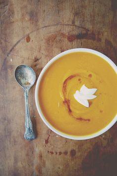 Brown Butter Butternut Squash Soup