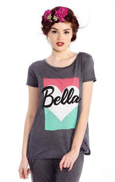 Wildfox Couture Bella Pop Traveler's Crewneck Tee