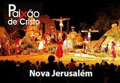 Nesta temporada, o grande espetáculo da encenação acontecerá de 22 a 30 de março. O espetáculo da Paixão de Cristo de Nova Jerusalém, tem sua origem nas encenação do drama de Jesus Cristo, que eram realizadas na pequena vila de Fazenda Nova, entre 1951 e 1962.
