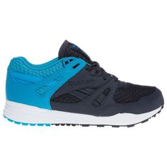 Reebok Ventilator trainers in reebok navy blue white at Soletrader Outlet  with off RRP and free delivery. 7268d594f
