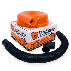 Dustopper High Efficiency Dust Separator, 12 in. Dia with in. Hose, 36 in. - The Home Depot