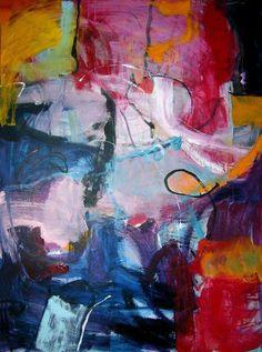 Christine Verhaert Acrylic on canvas 1 m x 1.40 m Untitled N i m p