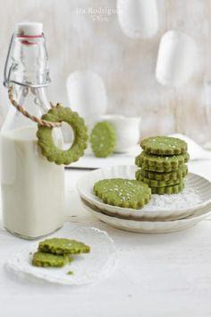 Milk and cookies for santa - adorable idea!