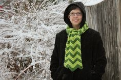 @katiecookicraft made this fun Rumpled Ripple Scarf in our Vanna's Choice.  Check out her video tutorial and pattern.
