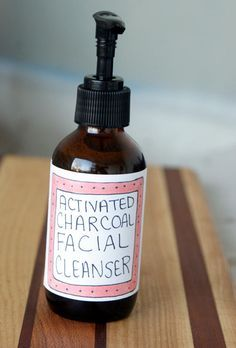 DIY Activated Charcoal Facial Cleanser Recipe. Looks interesting, but I am missing a few ingredients.