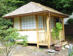 Build a Japanese Garden - Tea House Garden