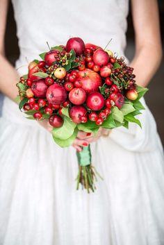bouquet de pommes pour mariage