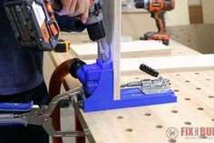 6 Easy Steps to Make Drawers : 6 Steps (with Pictures) - Instructables Woodworking Tools For Sale, Woodworking Planes, Easy Woodworking Projects, Woodworking Wood, Wood Projects, How To Make Drawers, Diy Drawers, Lumber Sizes, Hobby Desk